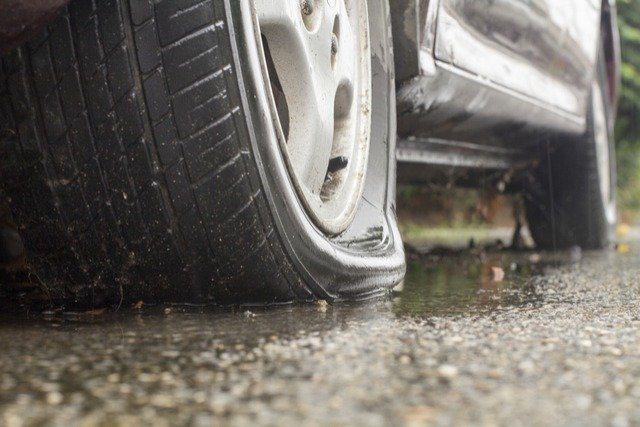 Causes Of Flat Tires