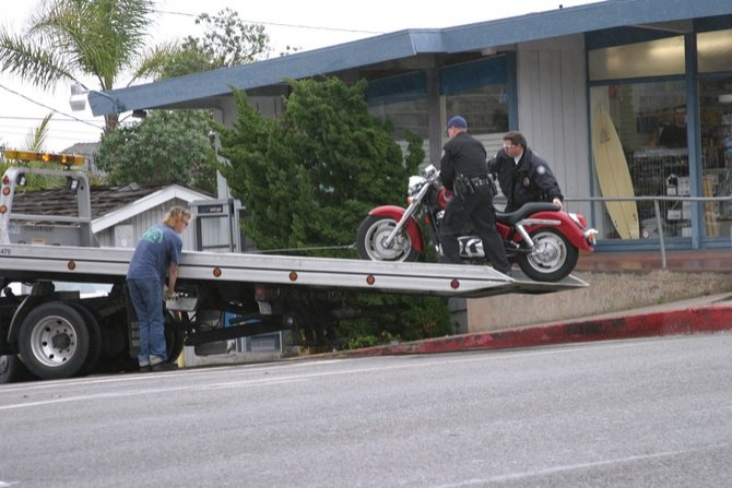 motorcycle towing near me